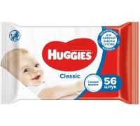 Салфетки влажные Huggies Classic 56 шт