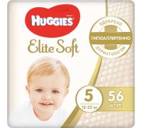 Подгузники Huggies Elite Soft 5 (12-22 кг) 56 шт.