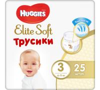 Подгузники-трусики Huggies Elite Soft 3 (6-11кг) 25шт