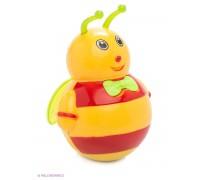 "Неваляшка ""Малышок"" Цвет микс Тигренок, Пчелка, Мишка 6379"