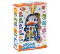 Play Smart Обучающий детский планшет с цветной проекцией Пингвин