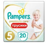 Подгузники-трусики Pampers Premium Care Pants 5 12-17кг 20 шт