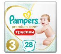 Подгузники-трусики Pampers Premium Care Pants 3 6-11кг 28 шт