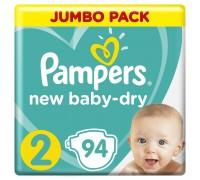 Подгузники Pampers New Baby-Dry 2 4-8кг 94шт