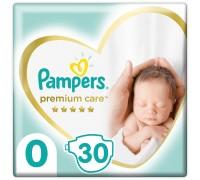 Подгузники Pampers Premium Care 0 до 5 кг 30шт