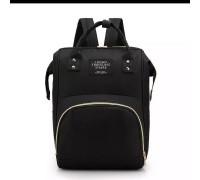 Сумка рюкзак для мам черный
