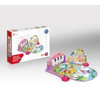 Развивающий музыкальный коврик с игрушками Piano fitness 70*46 cм