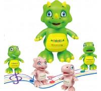 """Интерактивная игрушка """"Танцующий динозаврик"""" 21х15см"""