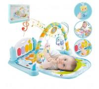 Развивающий музыкальный коврик с игрушками