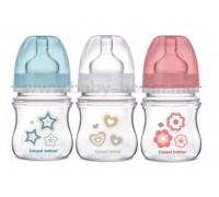 Детская бутылочка  Canpol Babies от 0 месяцев  120 мл беж