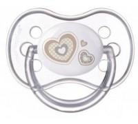 Пустышка силиконовая анатомическая NEWBORN BABY 6-18 мес  Canpol Babies  1 шт BPA- Free 22/581