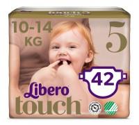 Подгузники Libero Touch 5 10-14кг 42шт