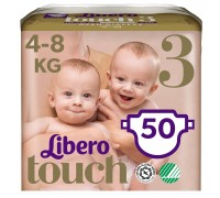 Подгузники Libero Touch 3 4-8кг 50шт