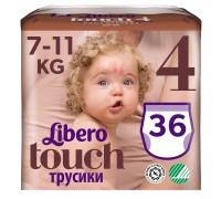 Трусики Libero Touch 4 7-11кг 36шт