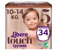 Трусики Libero Touch 5 10-14кг 34шт