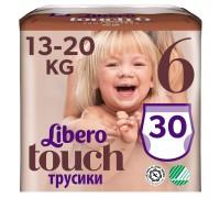 Трусики Libero Touch 6 13-20кг 30шт