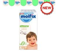 Подгузники  Molfix Pure&Soft 4 (7-14 кг) 44 шт