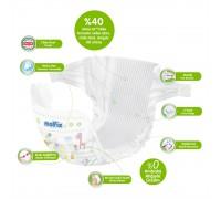 2 шт Пробник Подгузники  Molfix Pure&Soft 5 (11-18 кг) 2 шт