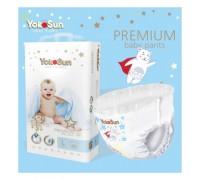 Подгузники-трусики YokoSun premium L 9-14кг 44шт