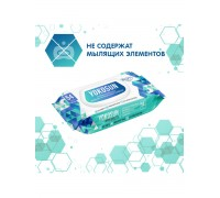 Влажные антибактериальные салфетки YokoSun 54 шт с крышкой