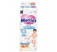 Подгузники Merries XL 12-20 кг 44 шт