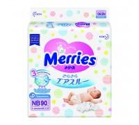 Подгузники Merries NB до 5 кг 90 шт