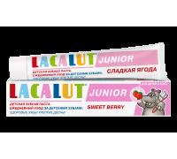 Lacalut Junior Зубная паста сладкая ягода  75 мл  c 8 лет без сахара