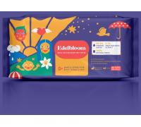Влажные салфетки с двойной текстурой для младенцев EdelBloom 20 шт гипоаллергенные