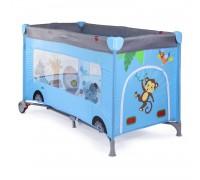 Кровать-манеж Blue bus