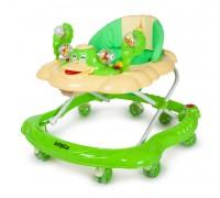 Ходунки QUACK  зеленый бежевый