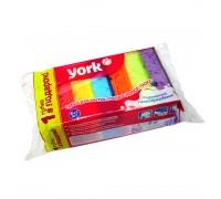 """Губка для мытья посуды """"York Maxi"""", 10x7x3см,  6+1 шт"""
