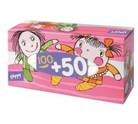 Платочки бумажные Лялька Bella детские вытяжные 150 шт