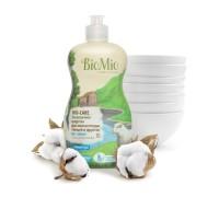 Средство для мытья посуды, овощей и фруктов BioMio BIO-CARE концентрат 450 мл БЕЗ ЗАПАХА гипоаллергенно