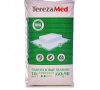 Пеленки TerezaMed normal, впитывающие, 60 х 90 см, 10 шт