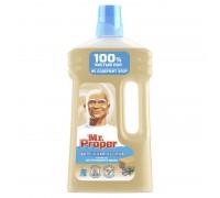 Средство для полов и стен mr. Proper 1л. бережная уборка с ароматом натур мыла