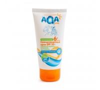 Солнцезащитный крем для детей и младенцев AQA Baby Spf50, 75 мл 6мес+