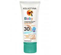 Солнцезащитный крем для детей и младенцев Kolastyna Spf30, 75 мл 6мес+
