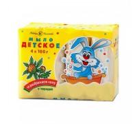 Мыло Невская Косметика Детское, 4х100 гр с чистотелом
