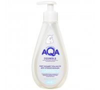 AQA dermika Смягчающий гель-масло для купания малыша 250 мл 0+