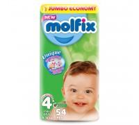 Подгузники Molfix Maxi Plus 4+ (9-16кг) 54 шт