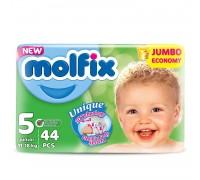 Подгузники Molfix Junior 5 (11-18 кг) 44 шт + салфетки 60 шт