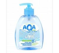 AQA baby Средство для подмывания малыша,  от 0 , 300 мл