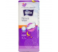 Прокладки гигиенические Bella Nova maxi хлопок 10 шт.
