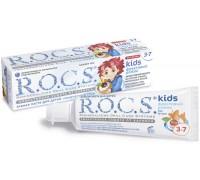 Зубная паста детская R.O.C.S. Baby кидс фруктовый рожок б/фтора 3-7лет 45г