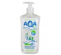 AQA baby средство для мытья бутылочек сосок и детской посуды 500 мл