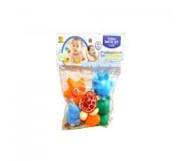 Набор игрушек для ванны 6 шт в пакете