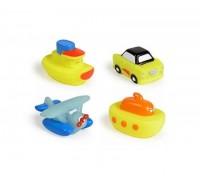 Набор игрушек для ванны «Транспорт», 4 шт.