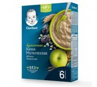 Каша безмолочная Gerber мультизлаковая чернослив-яблоко 180 г с 6 месяцев