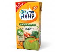 Суп-пюре ФрутоНяня брокколи-цветная капуста 200г с 6месяцев