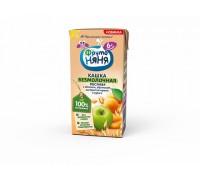 Каша ФрутоНяня безмолочная овсяная яблоко, абрикос, изюм, курага с 6 месяцев, 200 мл